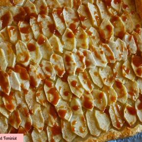 Apple Tart with SaltedCaramel