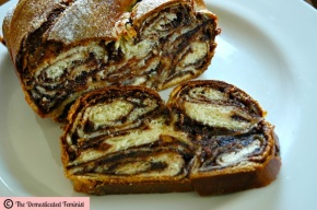 Povitica (Croatian Walnut Roll with Stretched Dough)